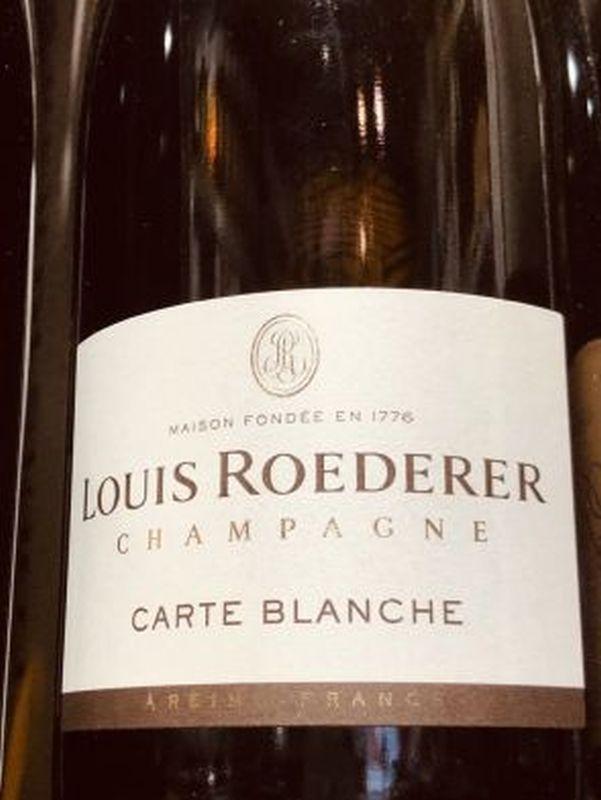 Louis Roederer Carte Blanche Demi-Sec NV 75cl