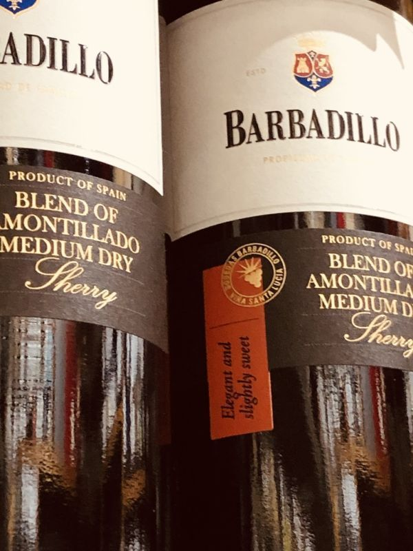 Barbadillo Amontillado Medium Dry Sherry NV
