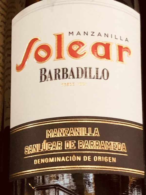 Barbadillo Solear Manzanilla NV 15% 37.5cl