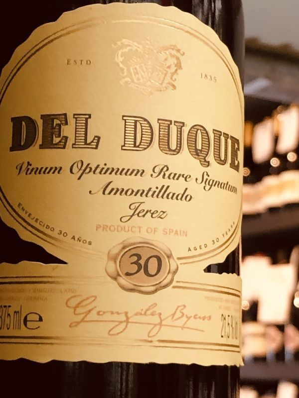 Gonzalez Byass Del Duque Amontillado VORS NV 37.5cl