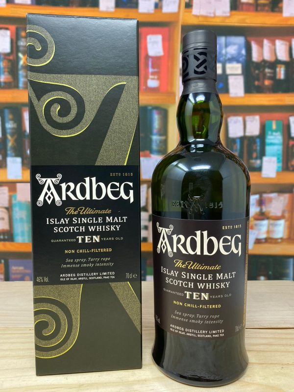 Ardbeg 10yo Islay Single Malt Scotch Whisky 46% 70cl