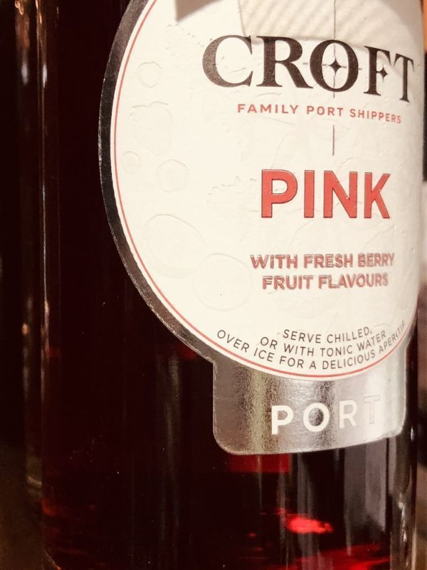 Croft Pink Port NV 50cl