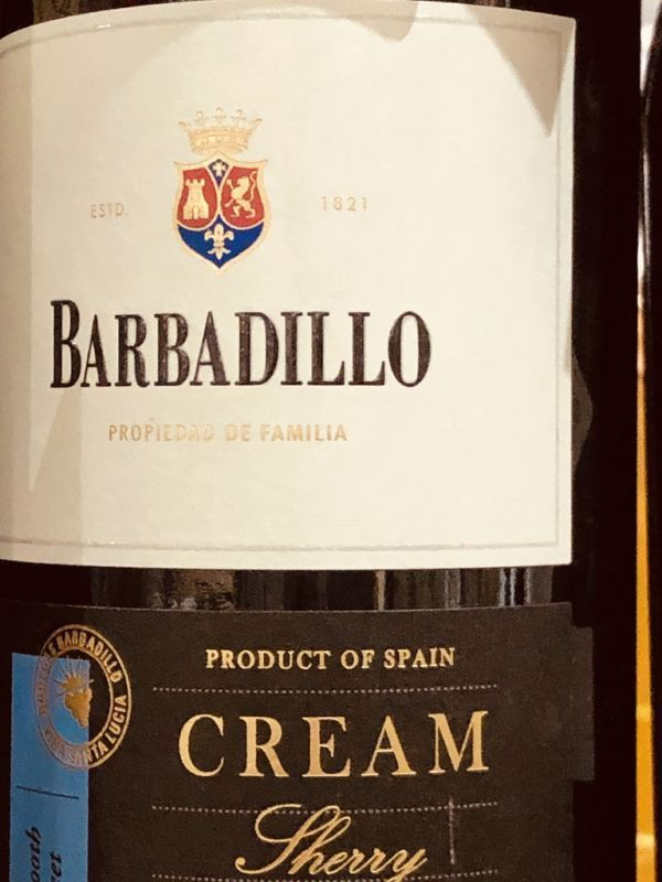 Barbadillo Pale Cream Sherry NV
