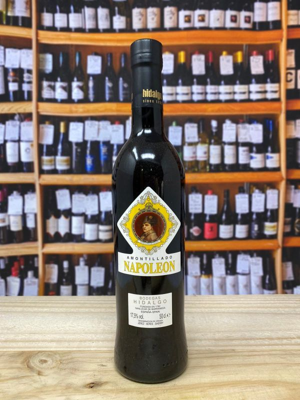 Hidalgo Amontillado Napoleon Sherry NV 50cl