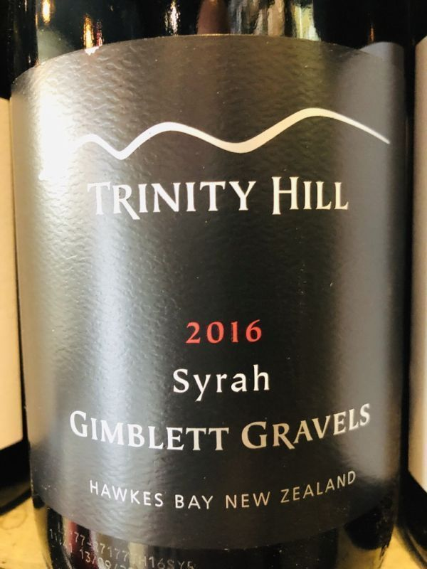 Trinity Hill Black Label Syrah 2018 Gimblett Gravels