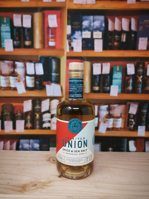 Spirited Union Spice & Sea Salt Botanical Rum 41% 70cl