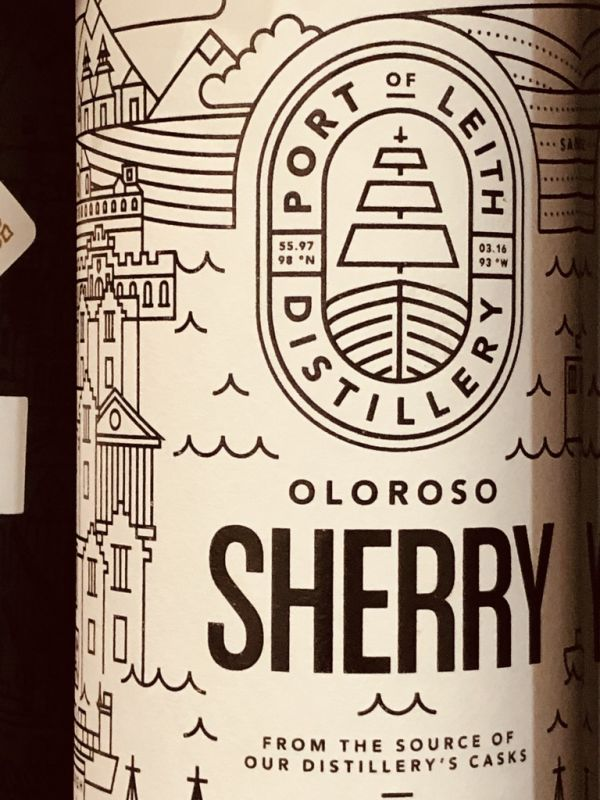 Port of Leith Distillery & Bodegas Baron Oloroso Sherry 17.5% 70cl