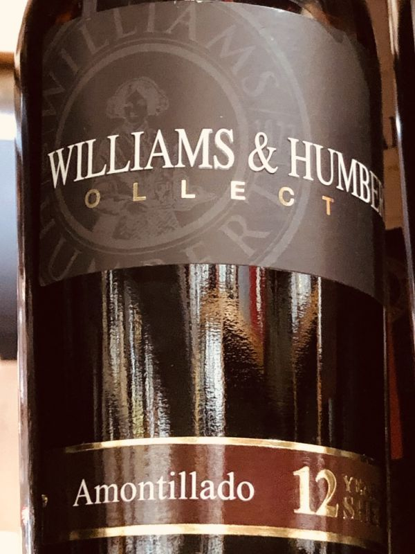 Williams and Humbert Amontillado 12yo Sherry 37.5cl