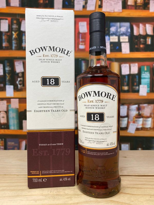 Bowmore 18yo Islay Single Malt Scotch Whisky 43% 70cl