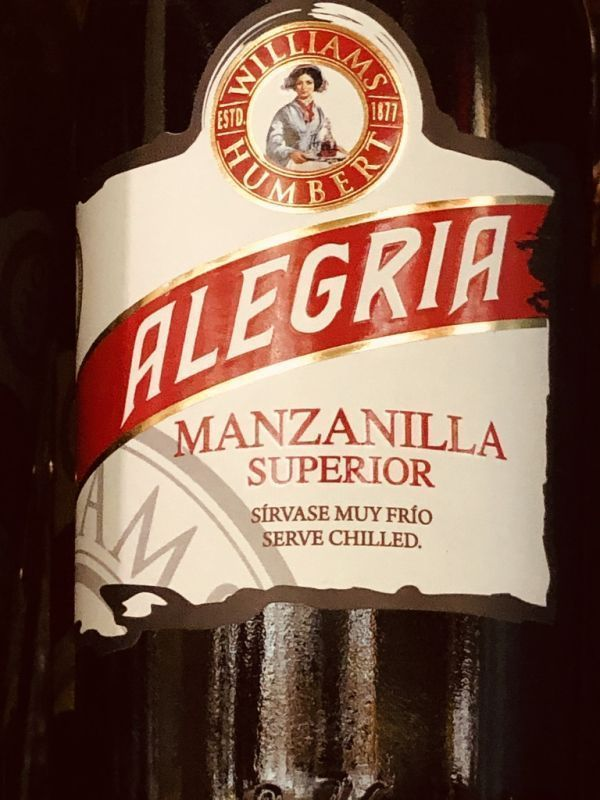 Williams and Humbert Alegria Manzanilla NV 37.5cl