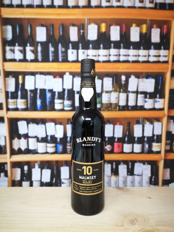 Blandy's 10 year old Malmsey 50cl Rich Madeira
