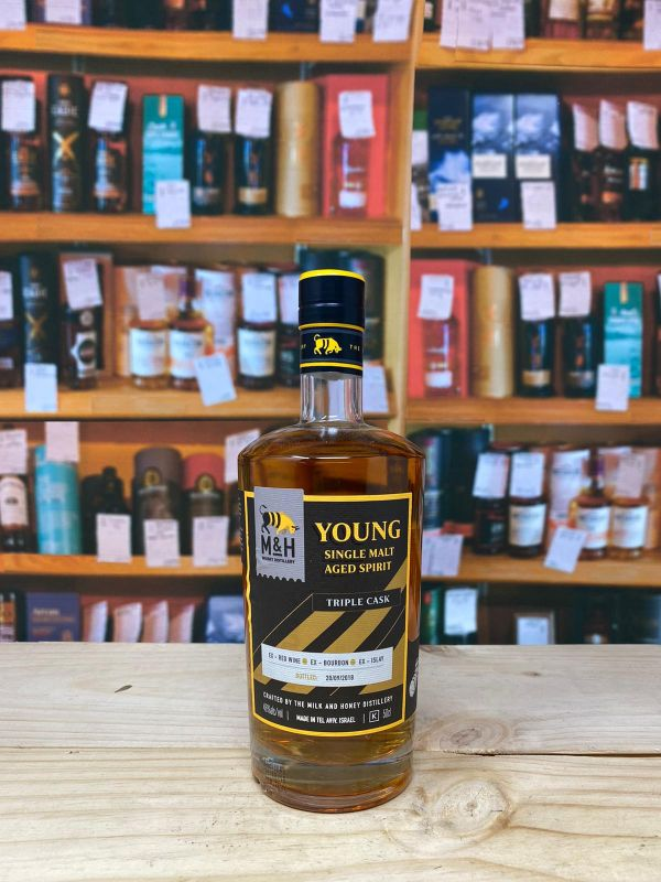 Milk and Honey Young Single Malt Aged Spirit 46% 50cl