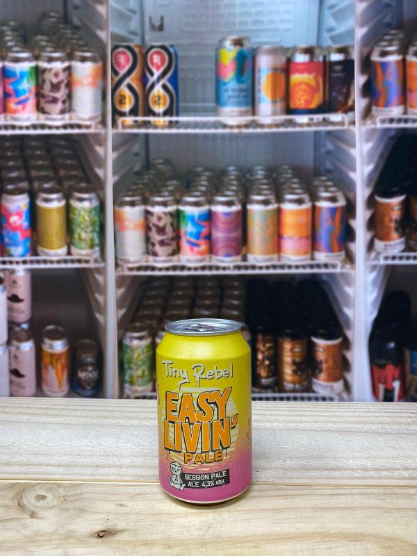 Tiny Rebel Easy Livin' Session Pale Ale 4.3% 33cl Can