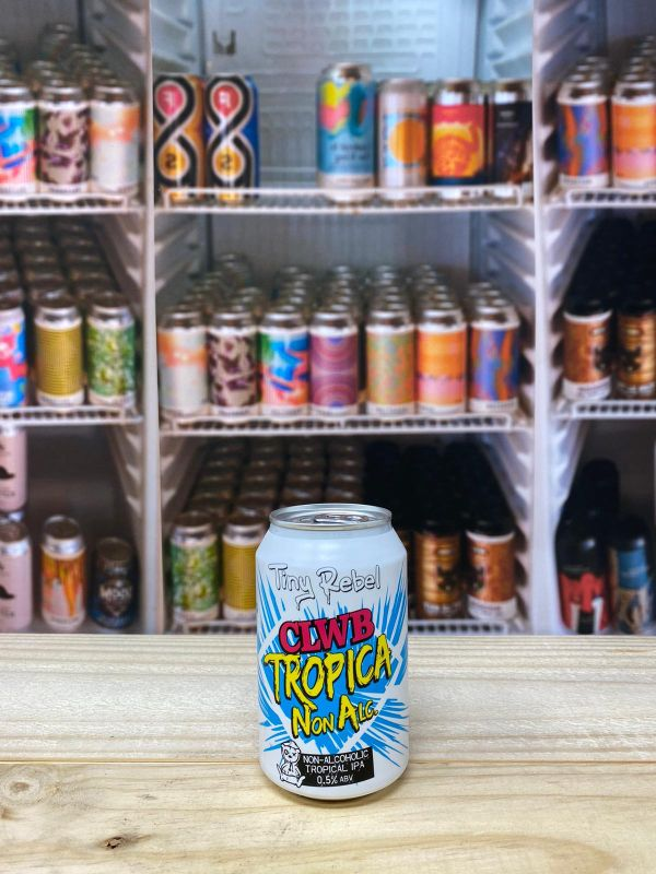 Tiny Rebel Clwb Tropica Non-Alcoholic 0.5% 33cl Can