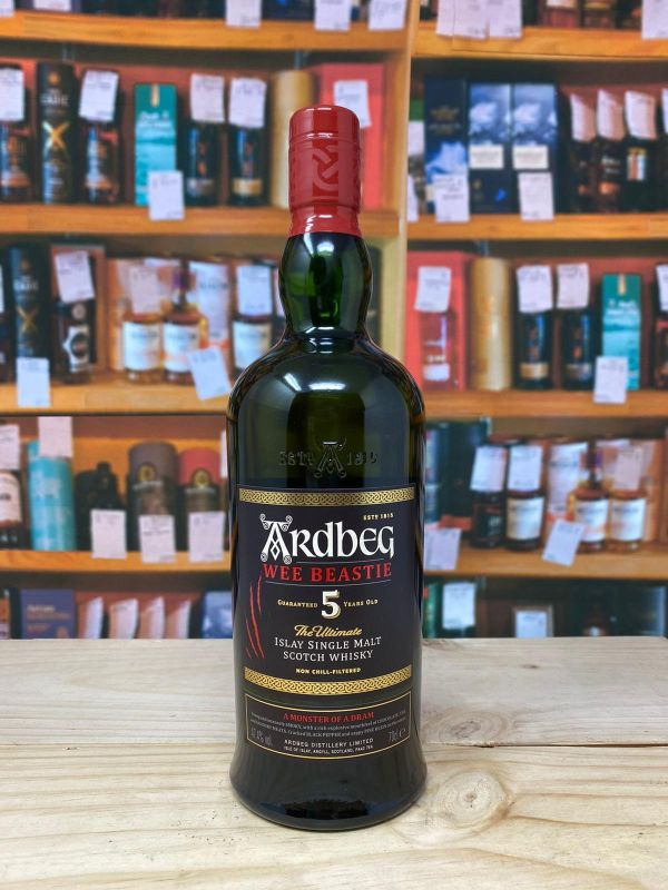 Ardbeg Wee Beastie Islay Single Malt Scotch Whisky 47.4% 70cl