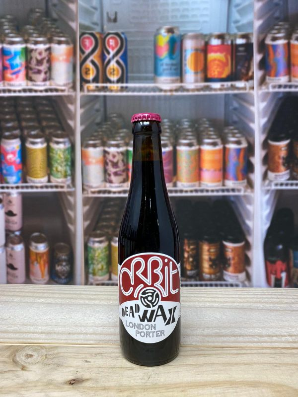 Orbit Beers Dead Wax London Porter 5.5% 330ml Bottle