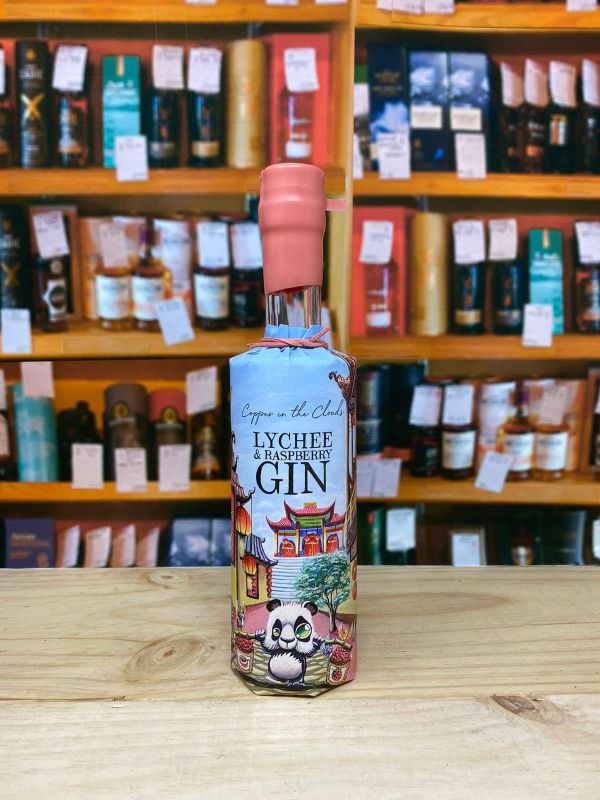 Copper in the Clouds Lychee and Raspberry Gin 40% 35cl