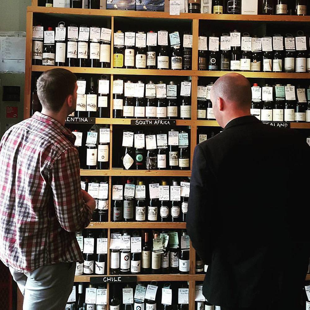 Giving wine advice