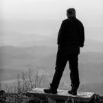 Chris K looking pensive in Austria