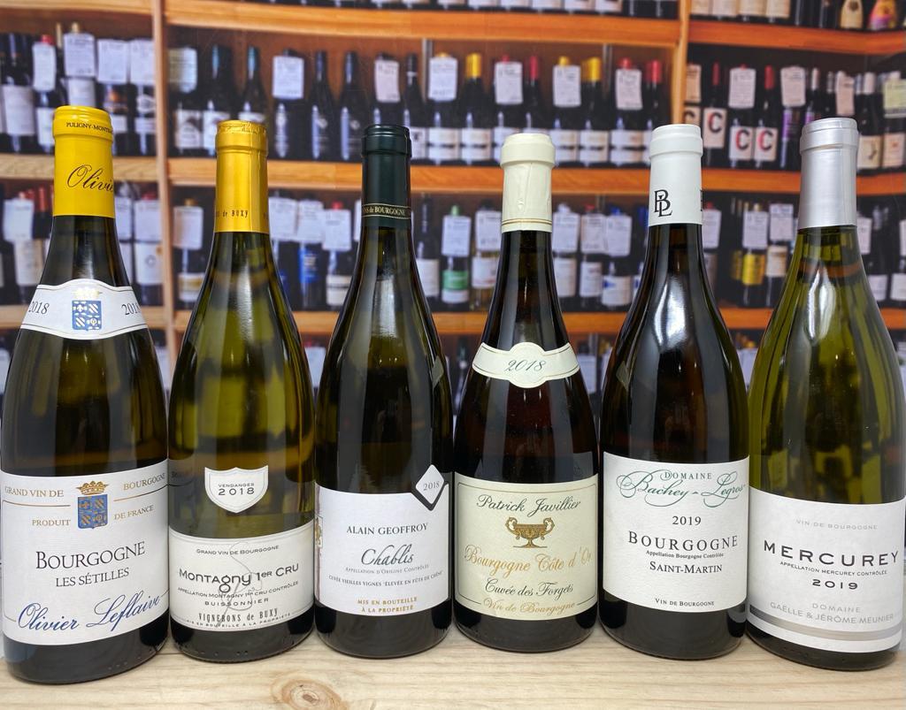 White Burgundy Case
