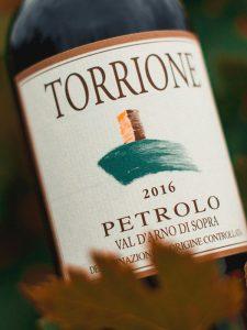 Bottle label of Torrione Petrolo